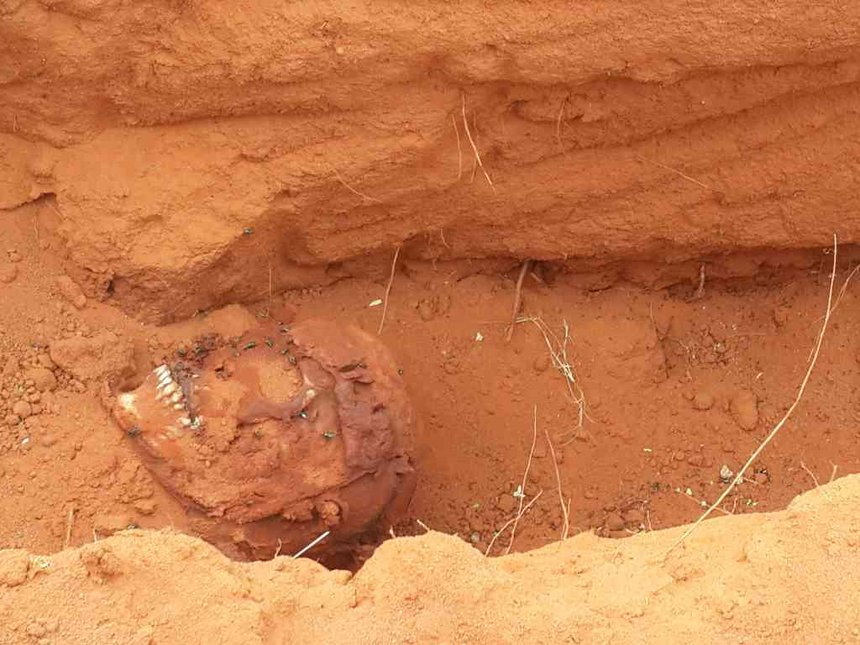 Five bodies recovered in shallow grave, Mandera