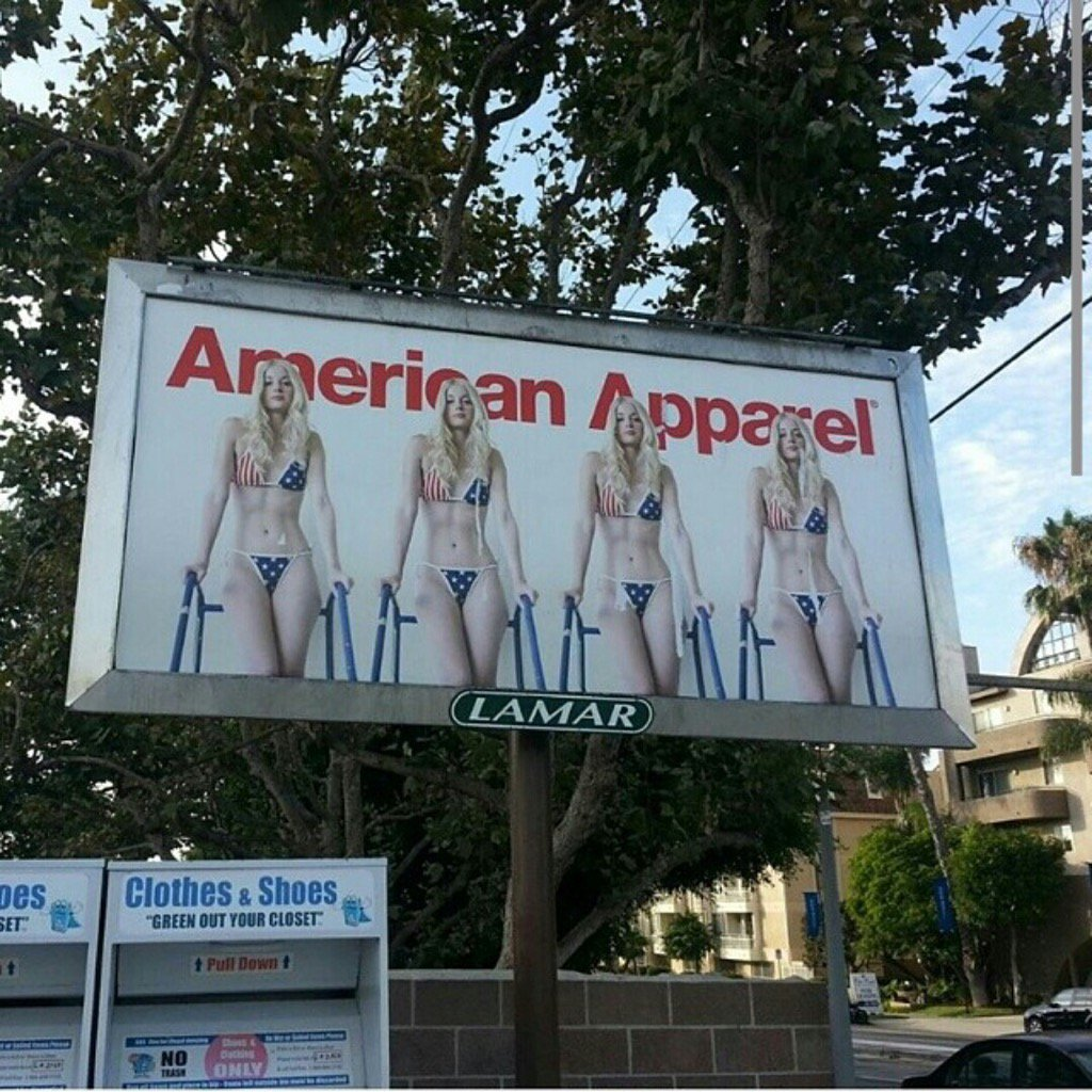 Happy Independence Day, USA 🇺🇸 #american apparel #billboard #charlottestokely #independenceday #4thofJuly