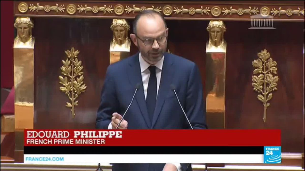 ?? France: PM Édouard Philippe details new government's priorities
