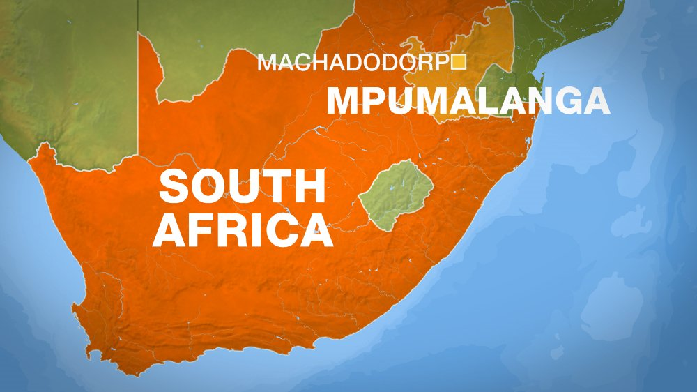 18 killed and 12 people injured as bus and truck collide in South Africa