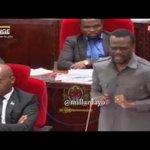 Zitto Kabwe Bungeni kuhusu miswada mipya ya sheria