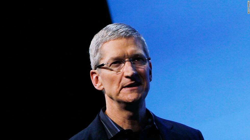 Apple CEO Tim Cook quotes FDR: We are all descended from immigrants