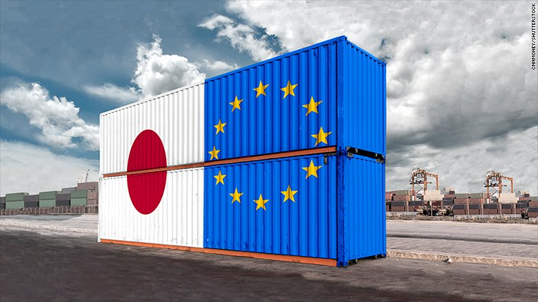 Japan and EU are preparing to sign a free trade deal on the eve of the G20 summit in Germany