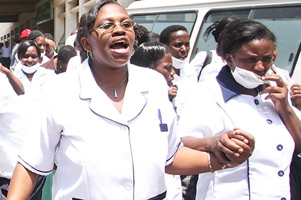 Services at MTRH crippled as defiant nurses dig in