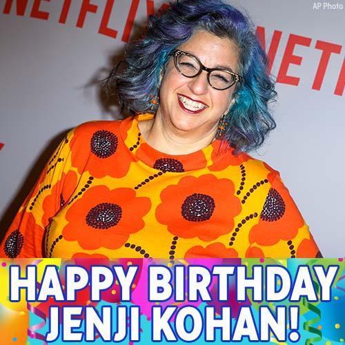 "\""Happy Birthday to Jenji Kohan! We hope the Orange Is The New Black creator has a great day."