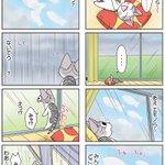 8コママンガ【今日のこねこのチー】チー、よろこぶ43DCGアニメ『こねこのチー ポンポンらー大冒険』がマンガになった!★