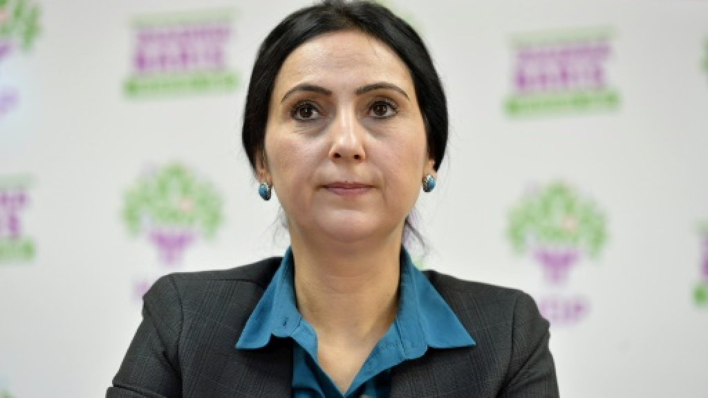 Turkey pro-Kurdish party's ex-leader tried on 'terror' charges