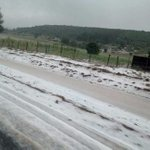 [PHOTO] Residents abuzz after snowfall in Nyahururu