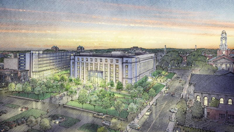 State Office Building Renovation May Spark Neighborhood Revival
