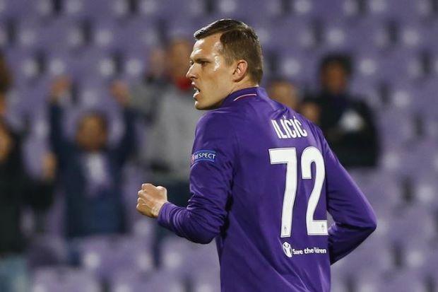 Atalanta sign Slovenia midfielder Ilicic from Fiorentina
