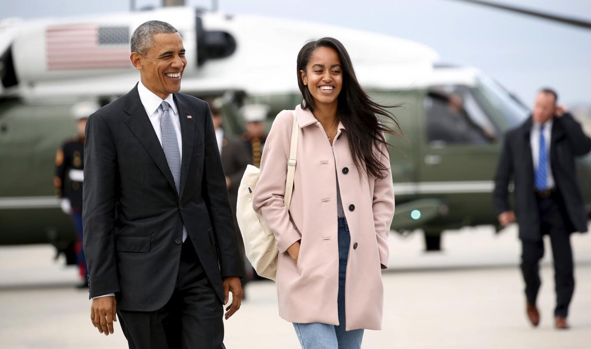 Malia Obama turns 19. She is scheduled to attend Harvard University this fall.