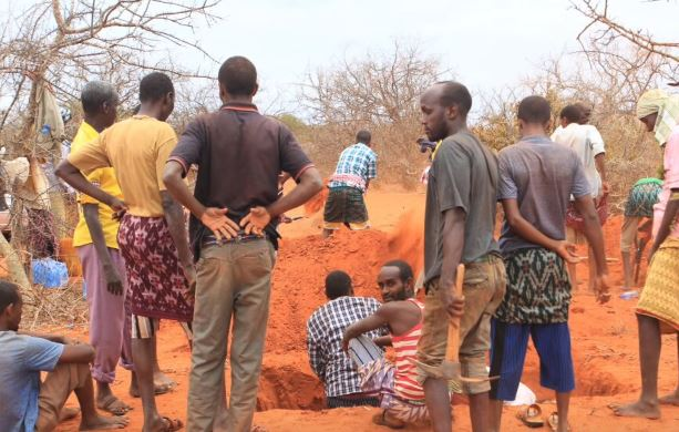 VIDEO: Bodies of Missing Persons Discovered in Shallow Grave in Mandera