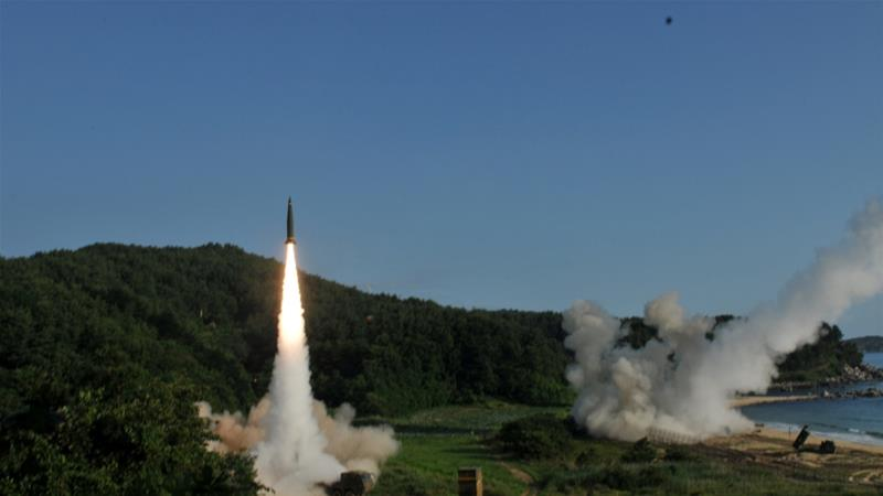 "South Korea and the US fire a ""barrage of missiles"" after North Korea's ICBM test"