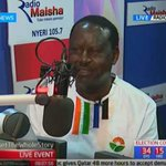 NASA presidential candidate Raila Odinga reveals why he stopped supporting Manchester United