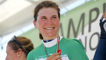Tricolori, Elisa Longo Borghini si conferma campionessa italiana a crono