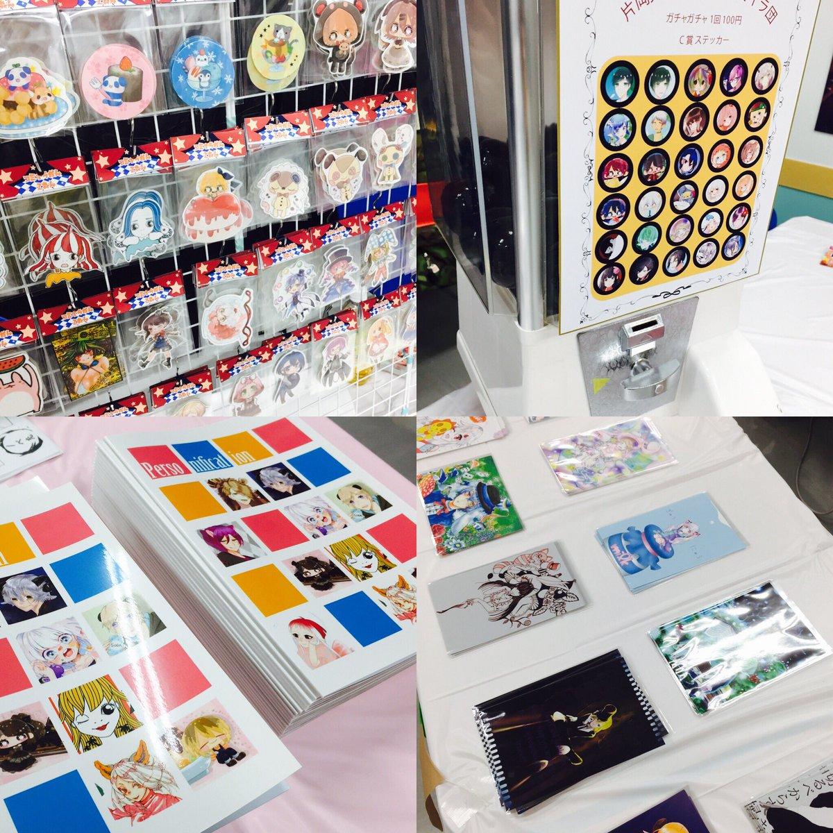 6/24、25、講師させてもらってる大阪アニメーションスクールにて学園祭があります!コミックイラストコースはグッズ物販で