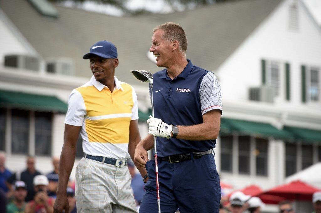 Even On Golf Course, Randy Edsall Will Always Talk A Little Football