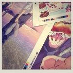 6月29日発売 spoon.2Di vol.27の描き下ろしイラストをちょっとだけ公開☆「KING OF PRISM -