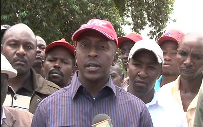 MP vows to take legal action against whoever barred him from attending President Uhuru rally