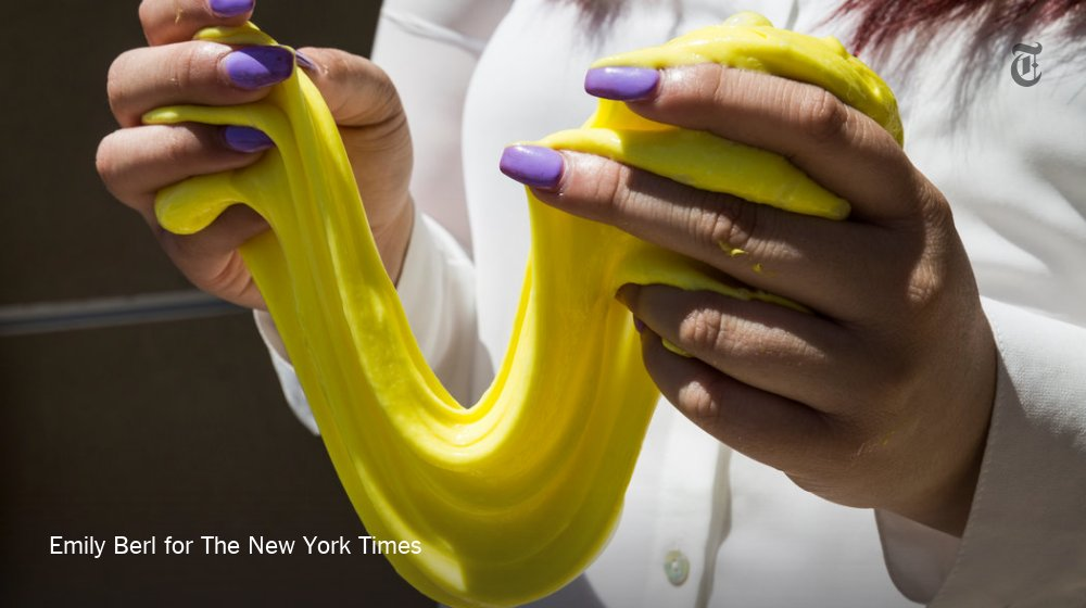 Children have turned slime into a business — and a thriving one at that
