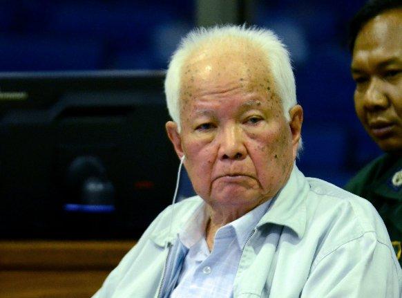 Khmer Rouge leader denies mass murder, blames Vietnam