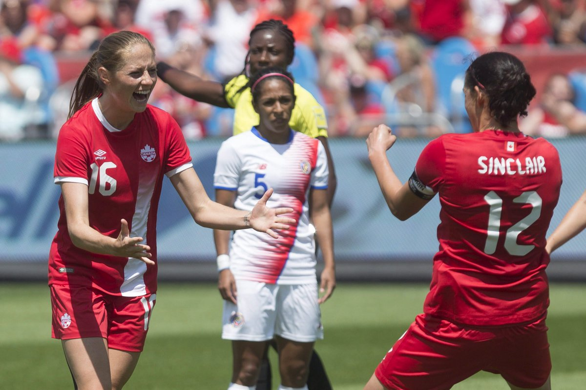 Canadian women move up one spot to No. 4 in FIFA world soccer rankings