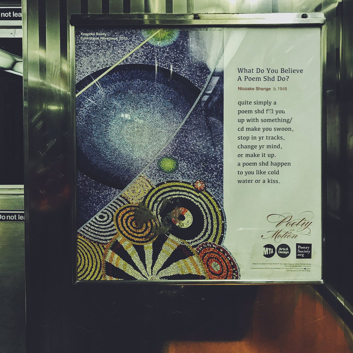 test Twitter Media - This morning on the 6. #mta #poetry ✨poetry in motion - literally✨ https://t.co/2aTsp3cbAl