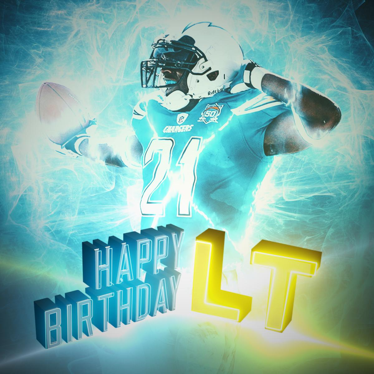 5x Pro Bowler. 2006 MVP.And soon-to-be @ProFootballHOF inductee.Have a HAPPY birthday, @LT_21! 🎉🎉🎉