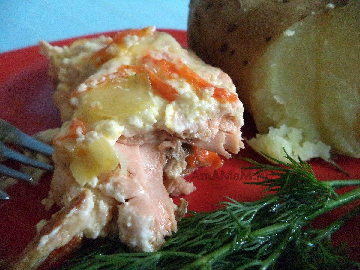Фаршированная горбуша рецепт с фото пошагово. Как приготовить 54