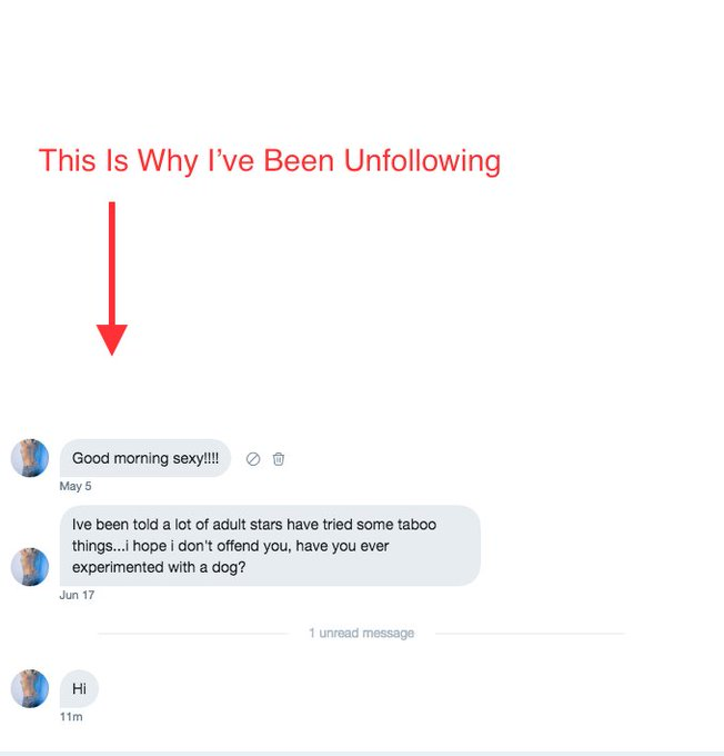 Meanwhile in my DM's   P.S.  Time to start thinking before you type. https://t.co/ygQLebiicl