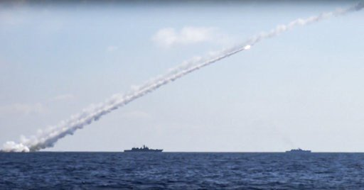 Russia fires missiles from Mediterranean at IS in Syria