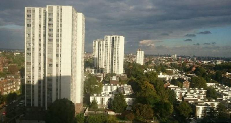 Camden tower block evacuated over cladding fire fears with over 800 households moved out