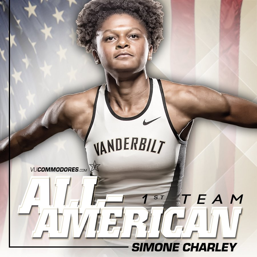 RT @vandyxctrack: Simone Charley named a first-team Academic All-American by @CoSIDAnews  Story:  https://t.co/sAAcTDF2OB https://t.co/VVLs…