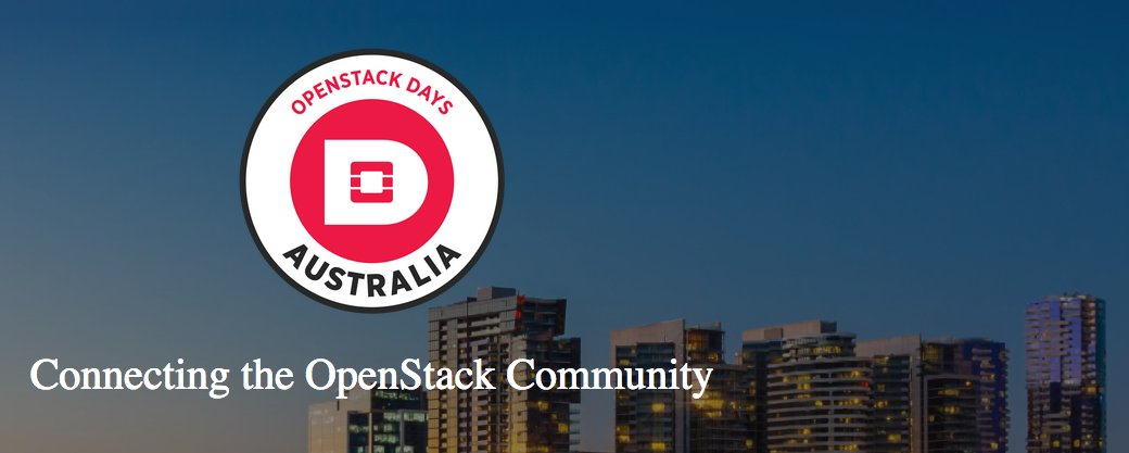 OpenStack Days Melbourne: a tipping point in cloud technology
