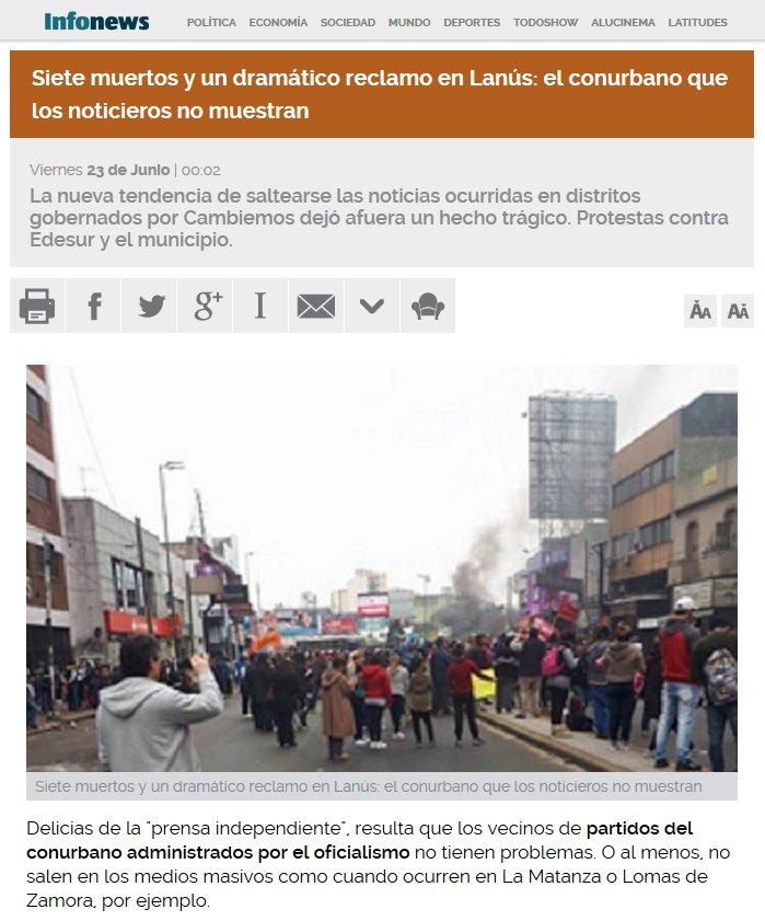 Siete muertos y un dramático reclamo en Lanús. https://t.co/IzIcoCSmTe https://t.co/VCPwAFQ98W