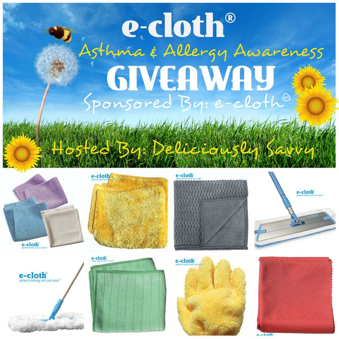 e-cloth Asthma & Allergy Awareness Bundle Giveaway (6/30 US)