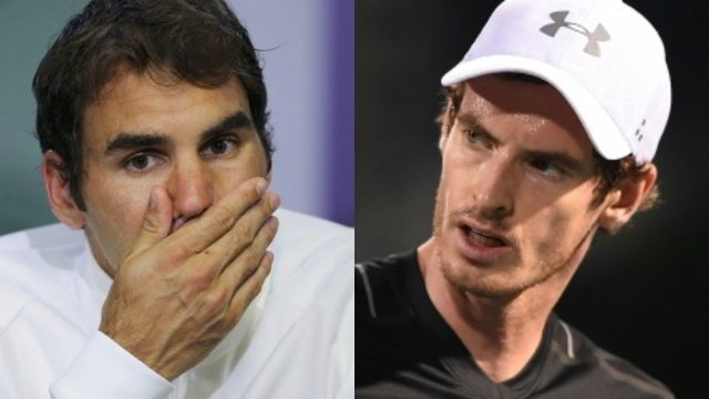 Andy Murray's reign as World No.1 is under threat, believes Roger Federer