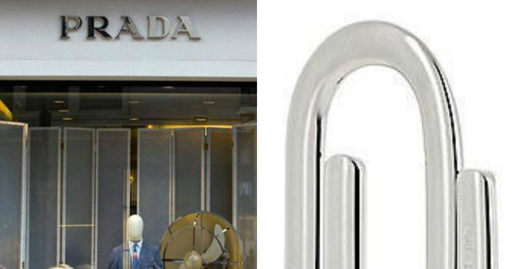 Prada is charging £140 for this PAPERCLIP… and social media users are completely outraged