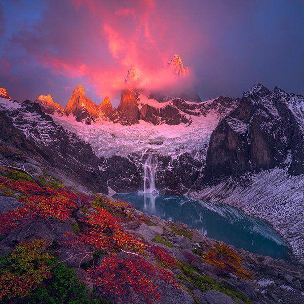 Monte Fitz Roy, Patagonia - Ted Gore https://t.co/Vi2pRVKg9e