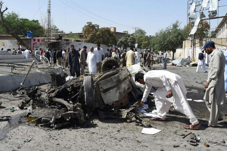 Death toll rises to more than 50 in multiple Pakistan attacks