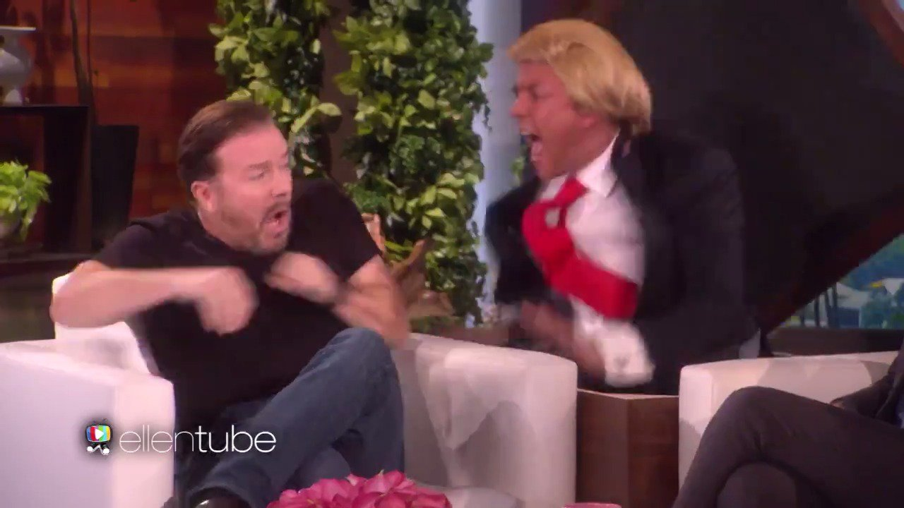 Happy birthday, @RickyGervais! What can I say? You've got balls. https://t.co/9yWe1BK77O