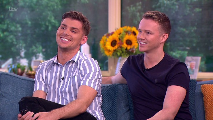 Hollyoaks' Kieron Richardson and husband Carl Hyland admit they want to have more children and won't rule out adoption