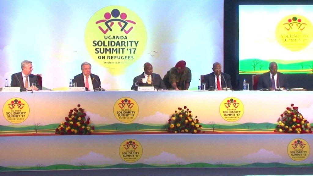 EYE ON AFRICA - Donors pledge millions at Uganda refugee summit