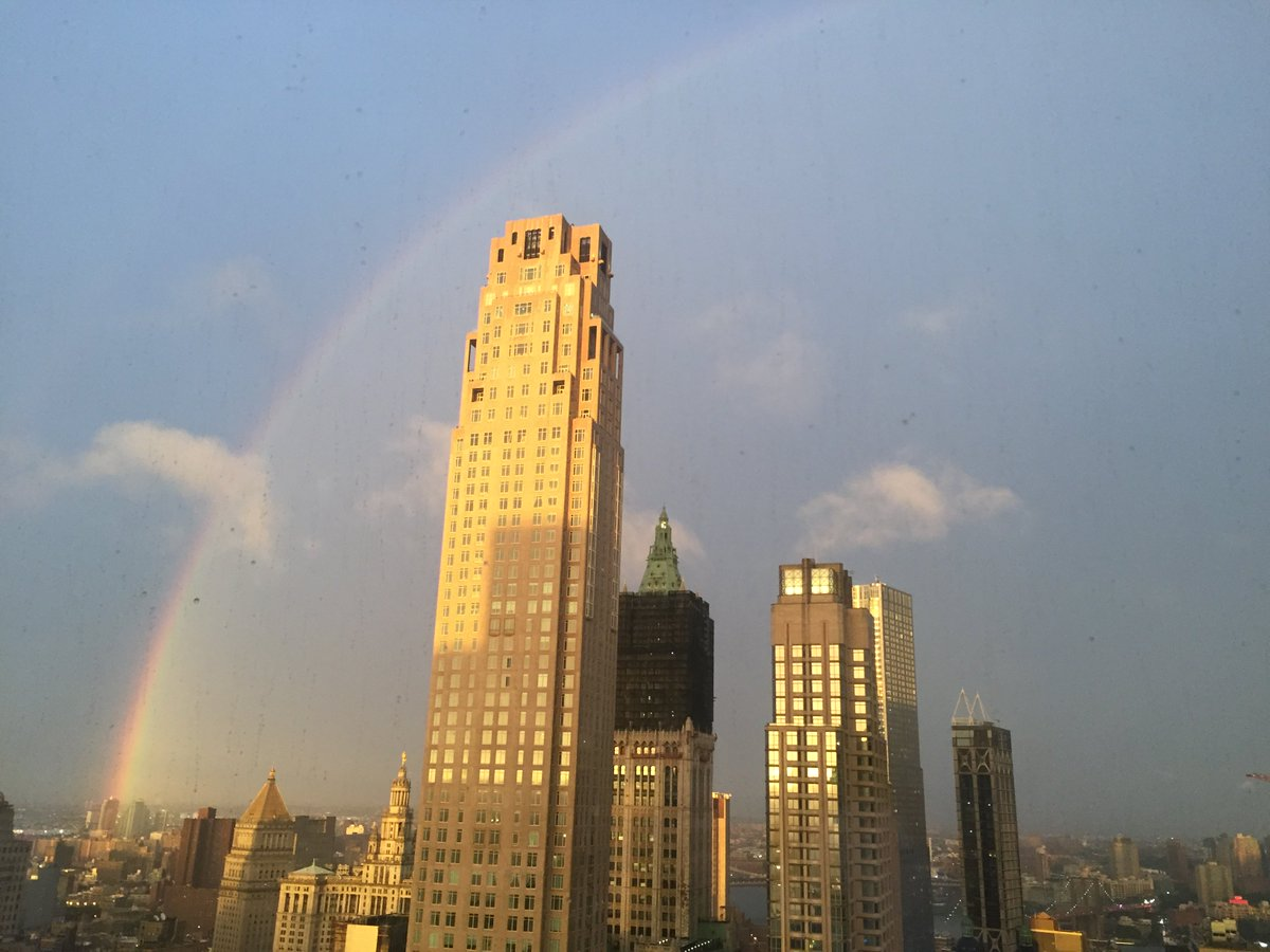 test Twitter Media - 2- #NYEW Opening Night at NY Academy of Science and @Inc had a rainbow to delight the crowd after Mark Chambers' speech @growacity https://t.co/HsFN4n17ac