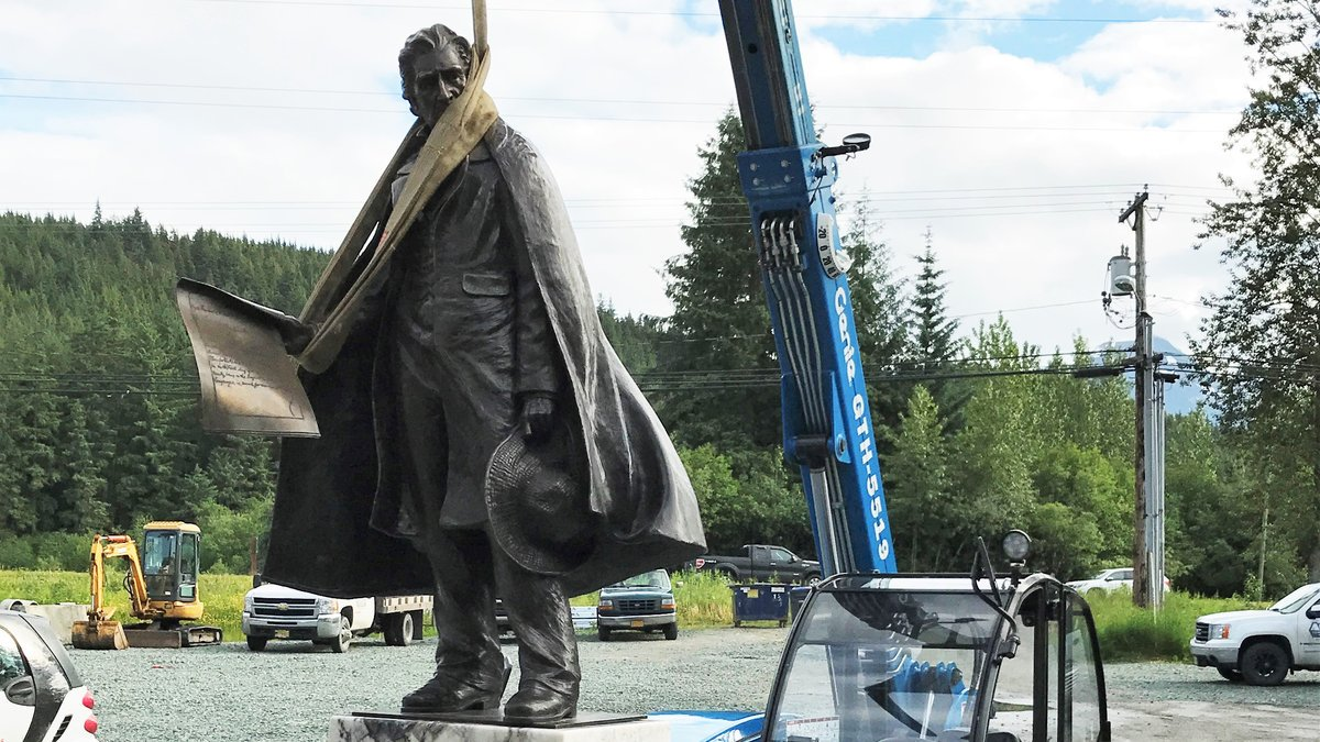 Seward Statue fully funded, days away from installation