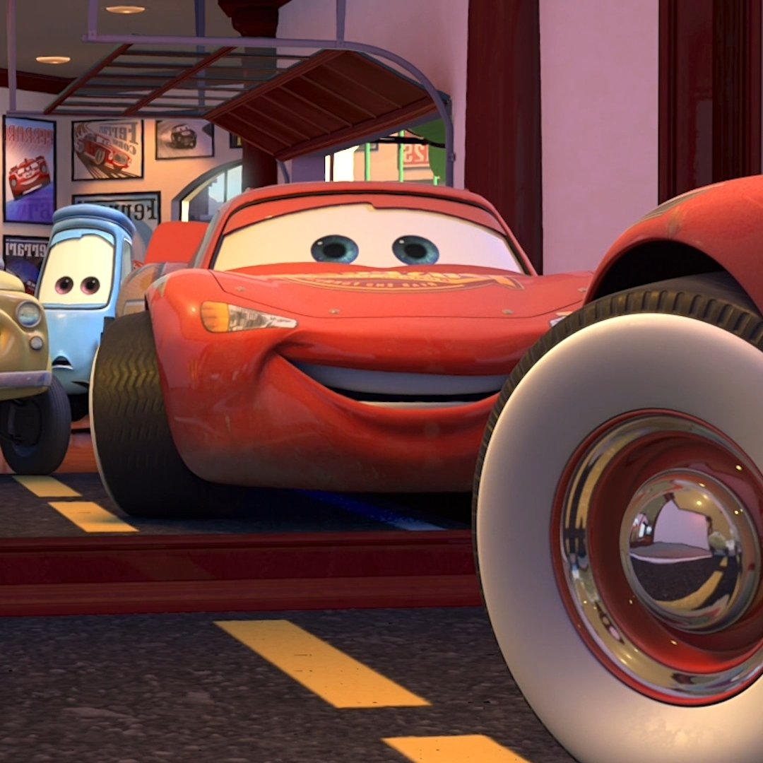 .@DisneyPixar got the show on the road at their bi-annual employee car event, Motorama!