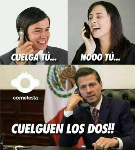 RT @Chuyo68: #EsteViernesEsPerfectoPara reírnos del copetes 😂 #GobiernoEspía https://t.co/WkEATD1rRw