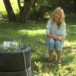 Omaha mother begs thieves to return tires that made up memorial for late sons