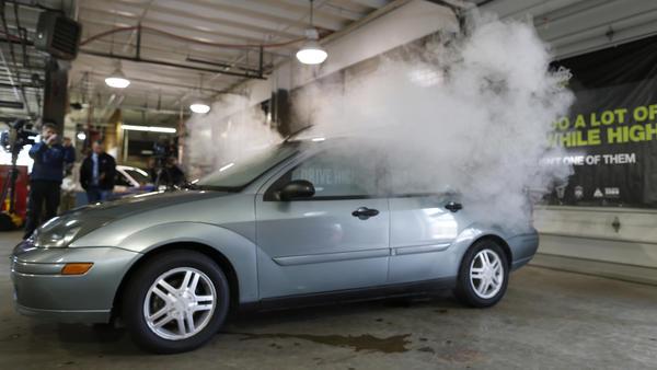 Legalized marijuana blamed for uptick in car crash claims