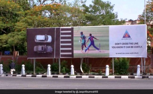 Jasprit Bumrah upset with Jaipur Police ad taking a dig at his no-ball